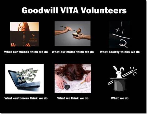 Goodwill VITA Volunteers